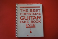 The Best Christmas Guitar Fake Book (2nd Edition)Songbook Notenbuch Vocal Guitar