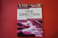One Direction - 21 Songs Volume 2 Songbook Notenbuch Easy Piano Vocal