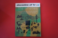 Decades of TV: The Nineties Songbook Notenbuch Piano Vocal Guitar PVG