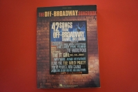 The Off-Broadway Songbook Songbook Notenbuch Piano Vocal