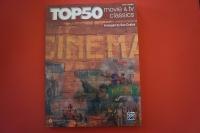Top 50 Movie & TV Classics Songbook Notenbuch Easy Piano Vocal