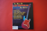 Led Zeppelin - The Best of for Guitar Songbook Notenbuch Vocal Guitar