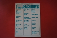 Beach Boys - The Best of Songbook Notenbuch Piano Vocal Guitar PVG
