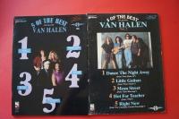 Van Halen - 5 of the Best Volume 1 & 2 Songbooks Notenbücher Vocal Guitar