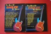 Eagles - Best of for Guitar Volume 1 & 2 Songbooks Notenbüch Vocal Guitar