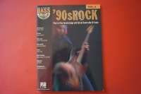90s Rock (mit CD) (Hal Leonard Bass Play-Along) Bassbuch