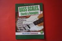 Bass Scales, Chords & Arpeggios Bassbuch