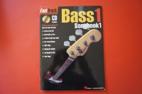 Bass Songbook 1 (mit CD)  (Fast Track Music Instruction) Bassbuch