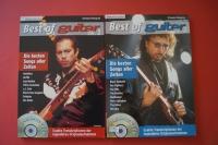 Best of Guitar Volume 1 & 2 (mit CDs) Gitarrenbücher