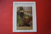 Englische Lieder und Balladen Songbook Notenbuch Guitar