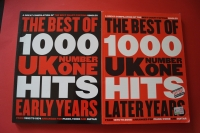 Best of UK Number One Hits 1952-1974 & 1975-2005 Songbooks Notenbücher Piano Vocal Guitar PVG