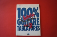 100 % Guitare Tablatures Volume 2 Songbook Notenbuch Vocal Guitar