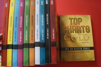 Hage Top Charts Gold Band 1 bis 11 (mit je 2 CDs) Songbooks Notenbücher Piano Vocal Guitar PVG
