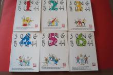 KJG-Songbuch: Band 1 bis 6 Songbooks Notenbücher Vocal Guitar