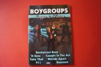 Boygroups Songs & Fotos Songbook Notenbuch Vocal Guitar