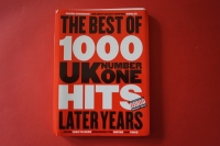 Best of UK Number One Hits 1980-2005 (Kleinformat)Songbook  Vocal Guitar Chords