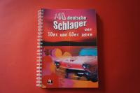 140 Schlager der 50er & 60er Jahre Songbook Notenbuch Vocal Guitar