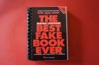 The Real Little Best Fake Book ever (3rd Edition, Kleinformat) Songbook Notenbuch Vocal Guitar