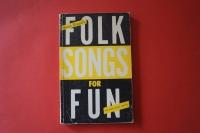 Folk Songs for Fun Songbook Notenbuch Vocal Guitar