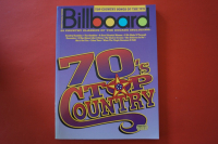 Billboard Series: Top Country Songs of the 70s Songbook Notenbuch Piano Vocal Guitar PVG