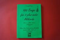100 Songs für 3 und mehr Akkorde Band 3 Songbook Notenbuch Vocal Guitar