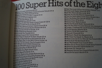 100 Super Hits of the Eighties Volume 1 & 2Songbooks Notenbücher Piano Vocal Guitar PVG