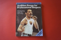 Audition Songs for Professonal Singers (mit 2 CDs) Songbook Notenbuch Piano Vocal Guitar PVG