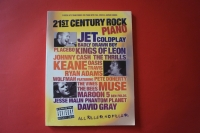 21st Century Rock Piano Songbook Notenbuch Piano Vocal Guitar PVG