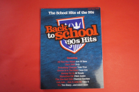 Back to School: 90s Hits Songbook Notenbuch Piano Vocal Guitar PVG
