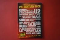 21st Century Rock Volume 2 (Kleinformat)Songbook Vocal Guitar Chords