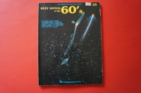 Best Songs of the 60s Songbook Notenbuch Piano Vocal Guitar PVG
