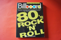 Billboard 80´s Rock n Roll Songbook Notenbuch Piano Vocal Guitar PVG