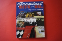 Greatest Hits of the 90s Songbook Notenbuch Vocal Easy Guitar