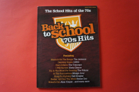 Back to School: 70s Hits Songbook Notenbuch Piano Vocal Guitar PVG
