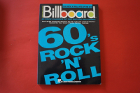 Billboard 60s Rock n Roll Songbook Notenbuch Piano Vocal Guitar PVG