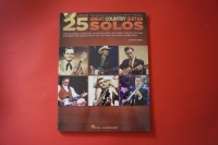 25 Great Country Guitar Solos (mit CD) Songbook Notenbuch Guitar