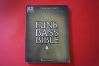 Funk Bass Bible Songbook Notenbuch Vocal Bass