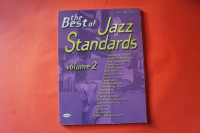 The Best of Jazz Standards Volume 2 Songbook Notenbuch Piano Vocal Guitar PVG