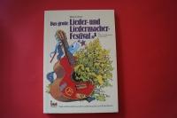 Das große Lieder- und Liedermacher-Festival Band 1 Songbook Notenbuch Vocal Guitar