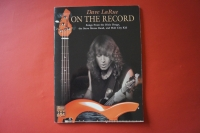 Dave LaRue - On the Record Songbook Notenbuch Bass
