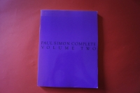 Paul Simon - Complete Volume 2 Songbook Notenbuch Piano Vocal Guitar PVG
