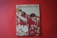 Santana - All that I am Songbook Notenbuch Piano Vocal Guitar PVG