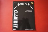 Metallica - Best of (mit CD) Notenbuch Clarinet