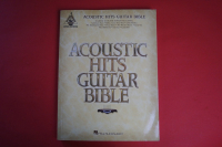 Acoustic Hits Guitar Bible Songbook Notenbuch Vocal Guitar