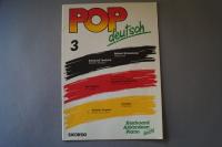 Pop deutsch Heft 3 Notenheft Keyboard Akkordeon Piano