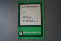 Accord Favoriten Heft 6 Notenheft