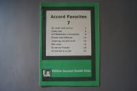 Accord Favoriten Heft 7 Notenheft