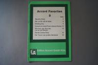 Accord Favoriten Heft 9 Notenheft