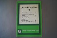 Accord Favoriten Heft 16 Notenheft