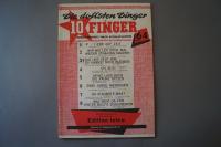 Die dollsten Dinger für 10 Finger Heft 64 Notenheft